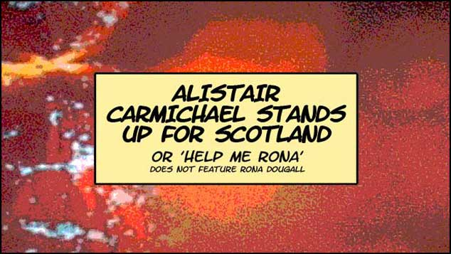 Alistair Carmichael Stands Up For Scotland