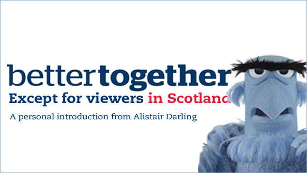 Better Together – Except for Viewers in Scotland