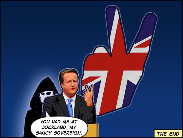 David Cameron's Grand Gesture