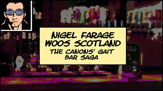 Nigel Farage Woos Scotland