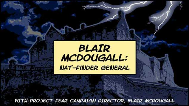 Blair McDougall: Nat-Finder General