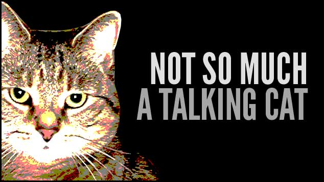 Not So Much A Talking Cat