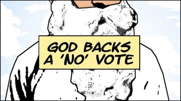 God Backs A No Vote