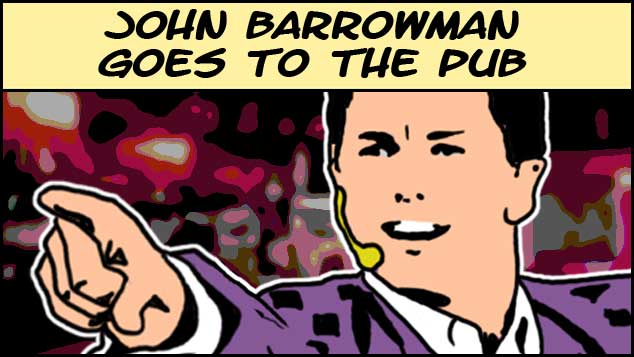 John Barrowman Goes To The Pub