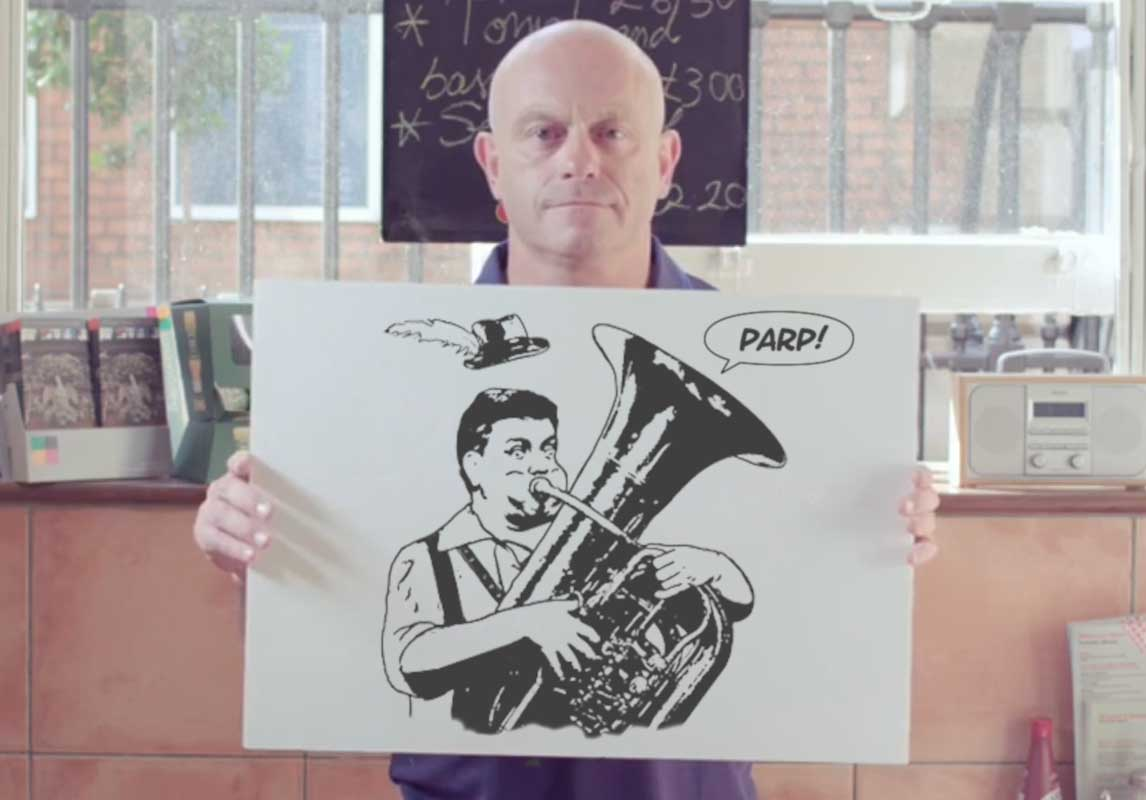 Ross Kemp Presents The Greg Moodie Cartoon