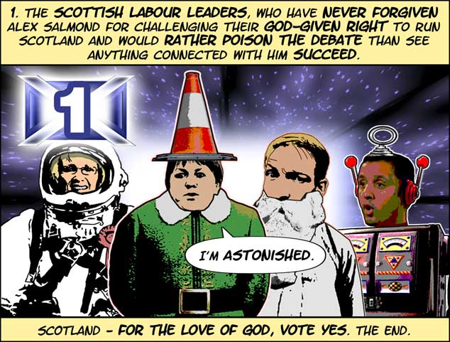 Ten Cartoon Reasons To Vote Yes