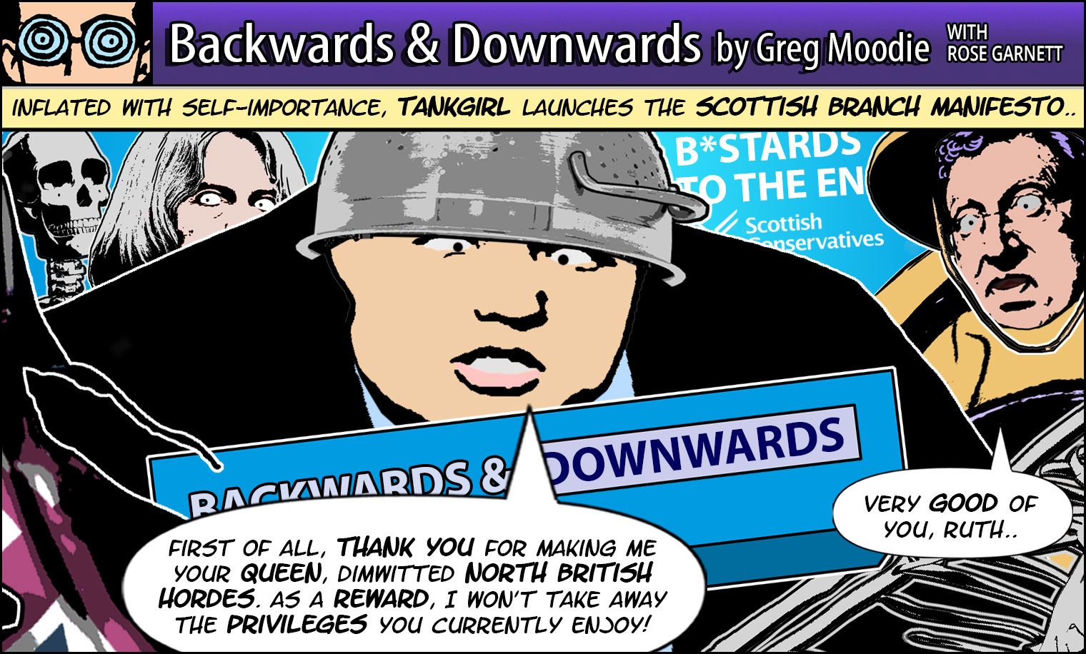 Backwards & Downwards