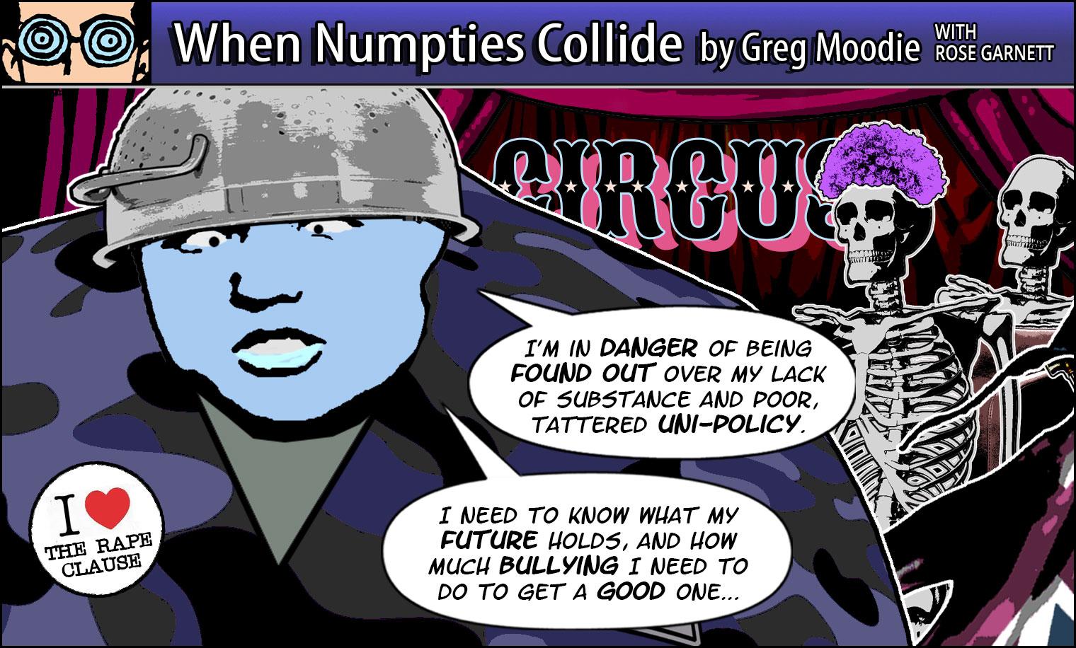 When Numpties Collide