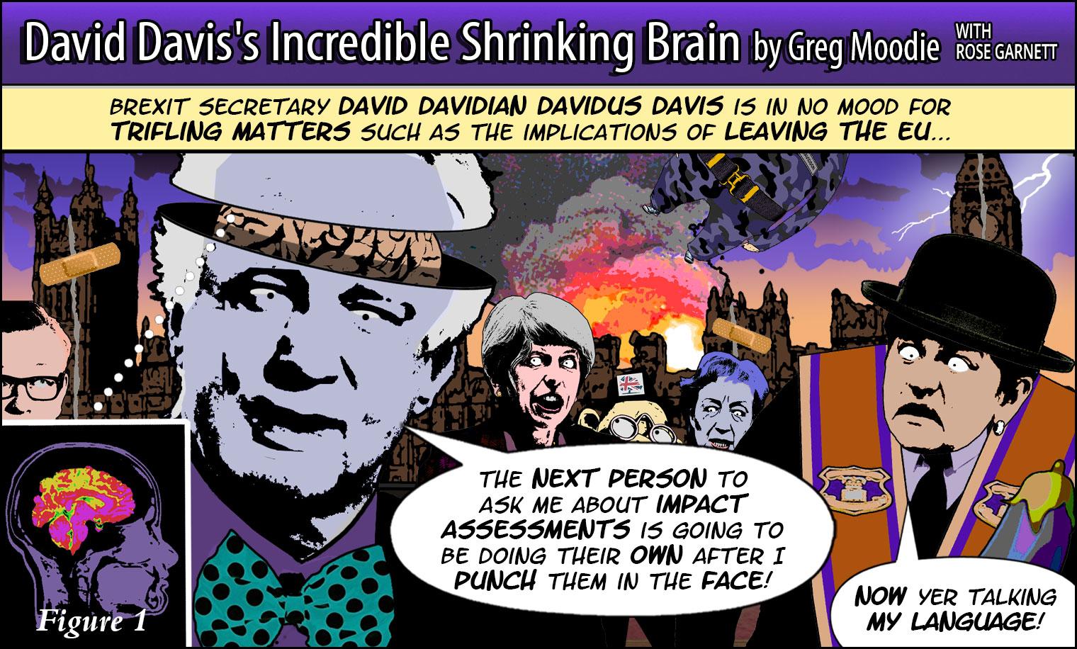 David Davis's Incredible Shrinking Brain