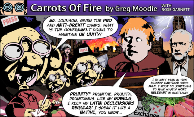 Carrots Of Fire