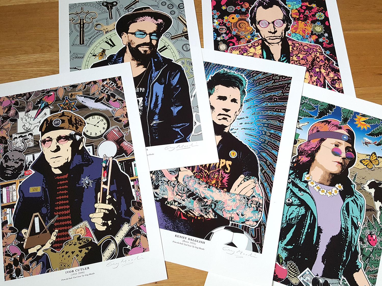 Greg Moodie prints