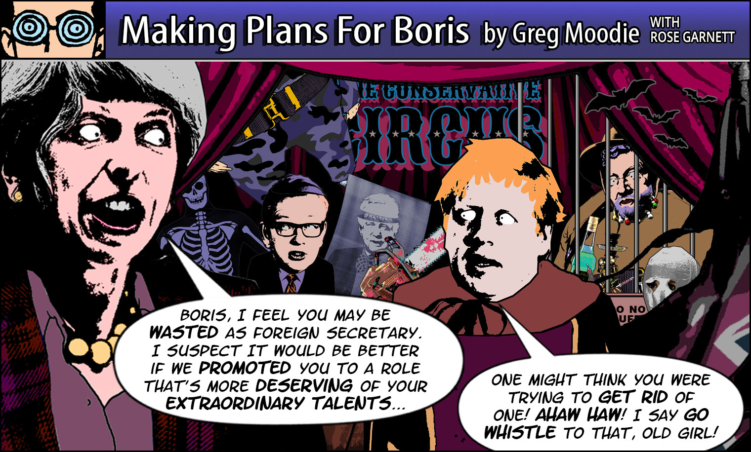 Making Plans For Boris