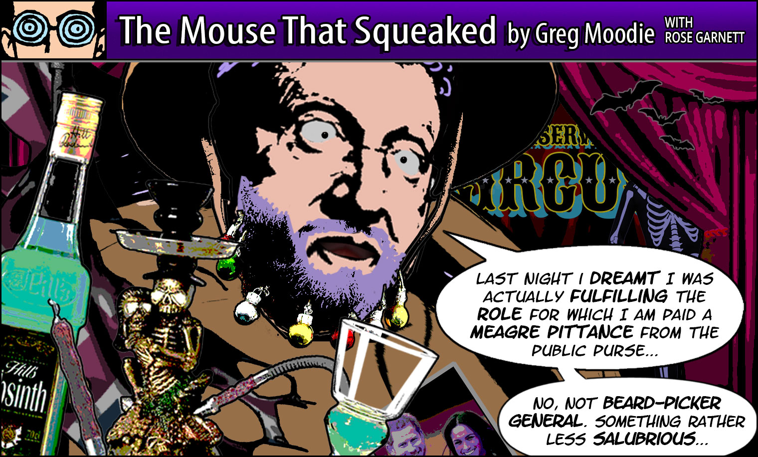 The Mouse That Squeaked
