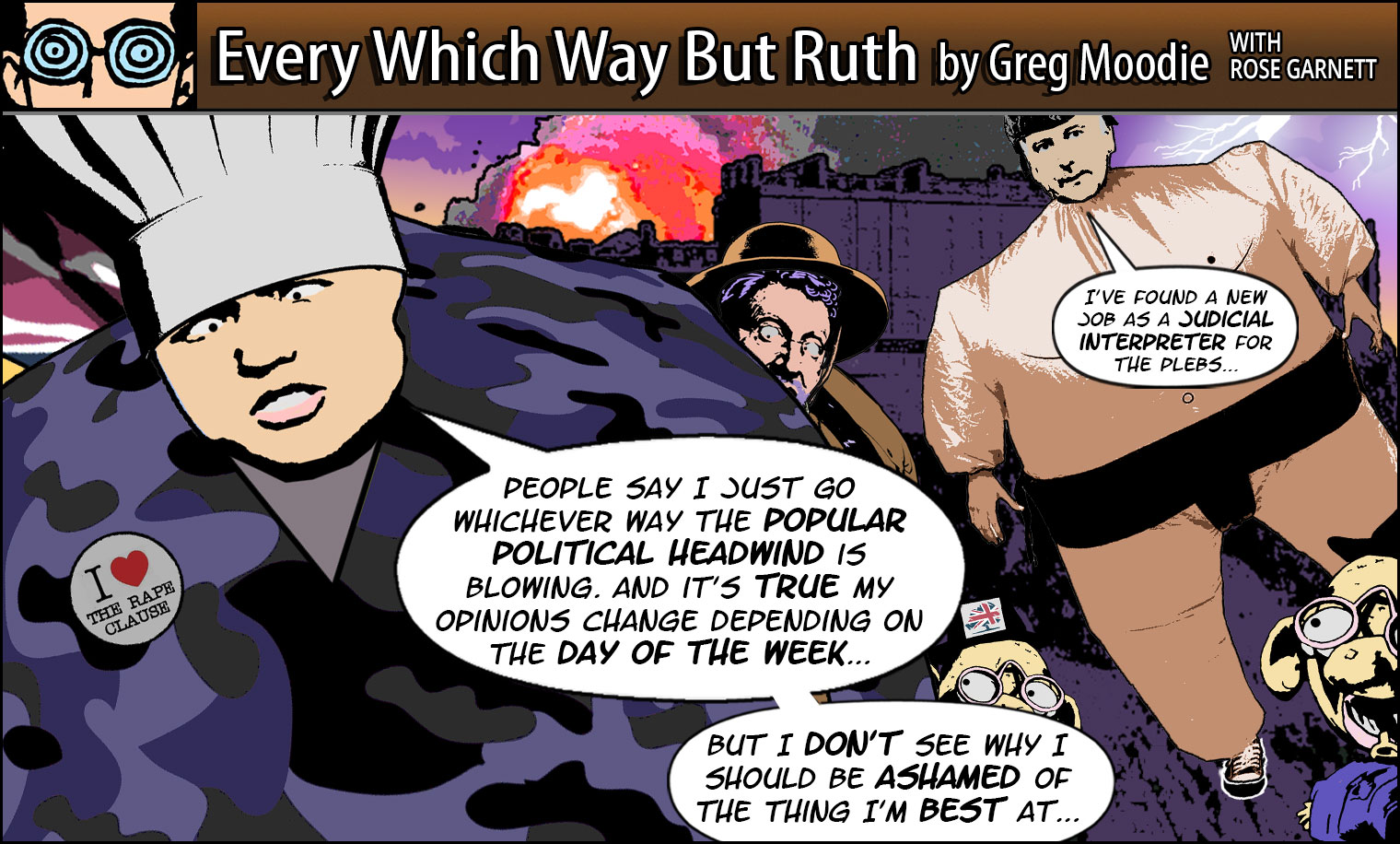 Every Which Way But Ruth