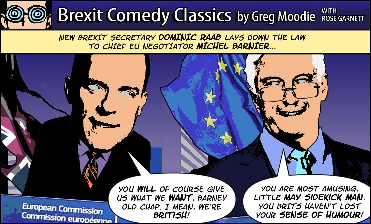 Brexit Comedy Classics