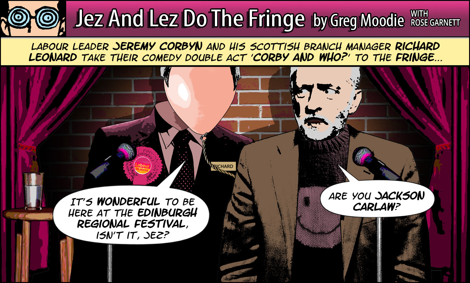 Jez And Lez Do The Fringe