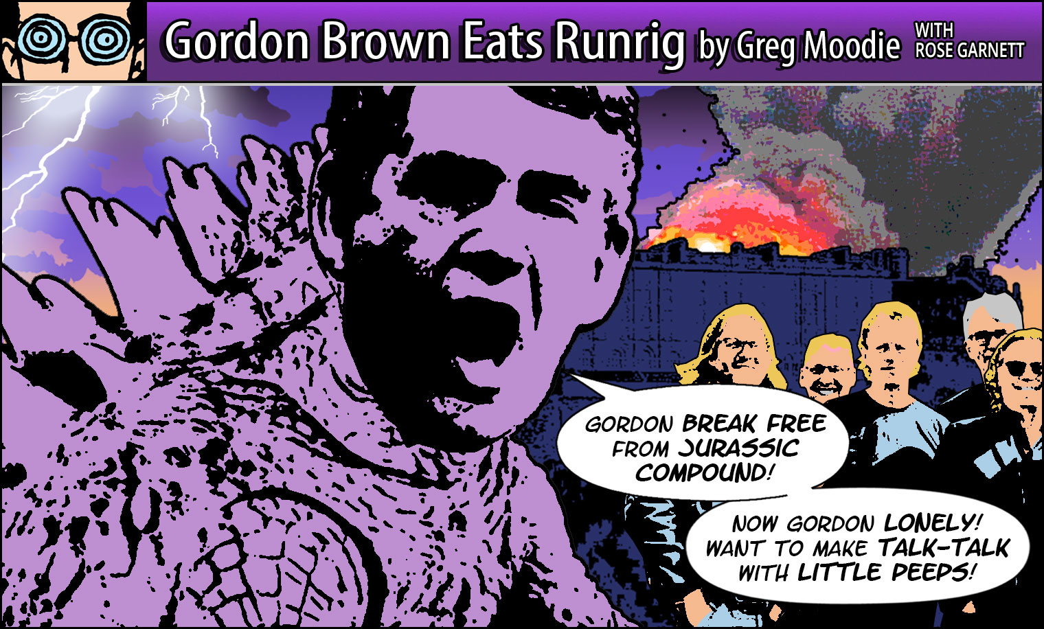 Gordon Brown Eats Runrig