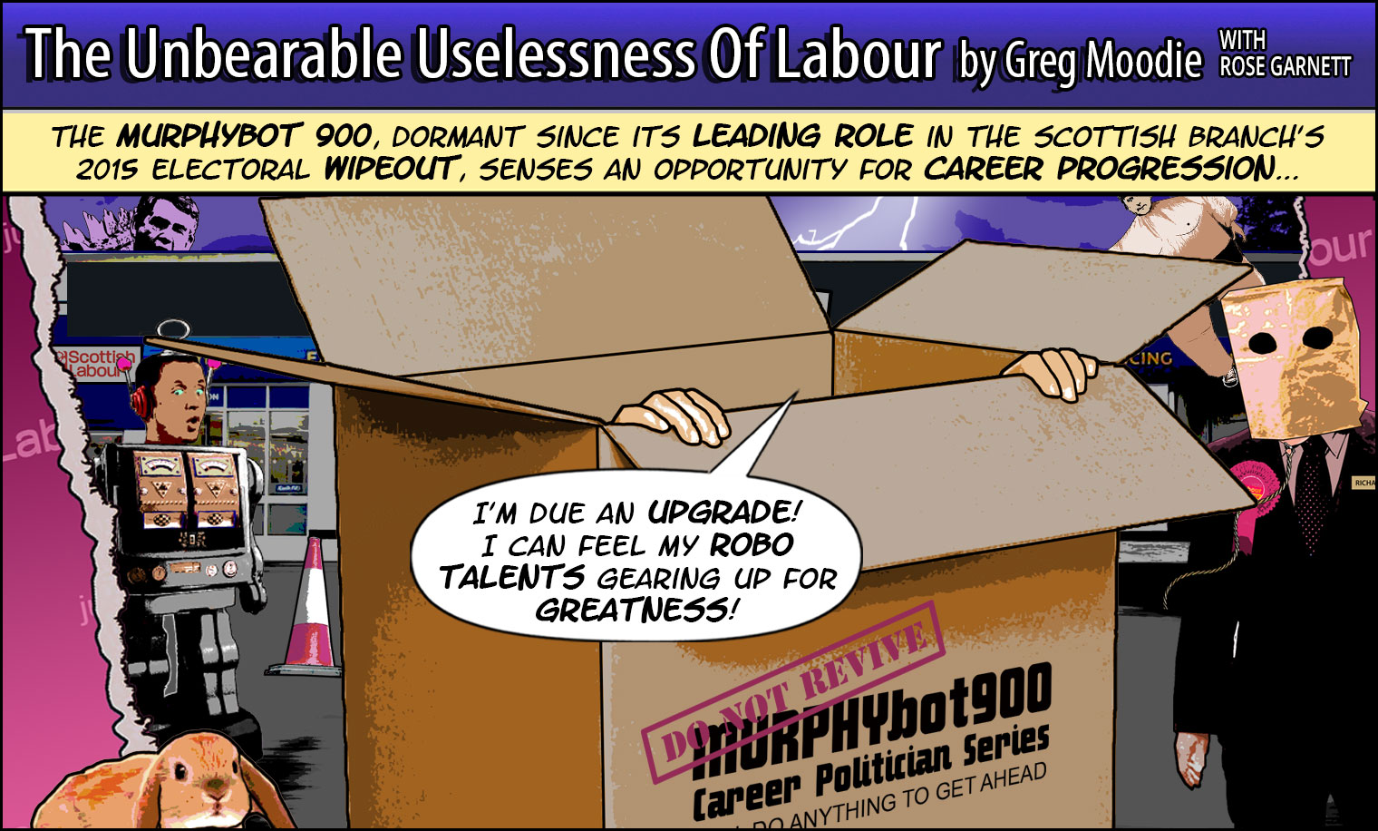 The Unbearable Uselessness Of Labour