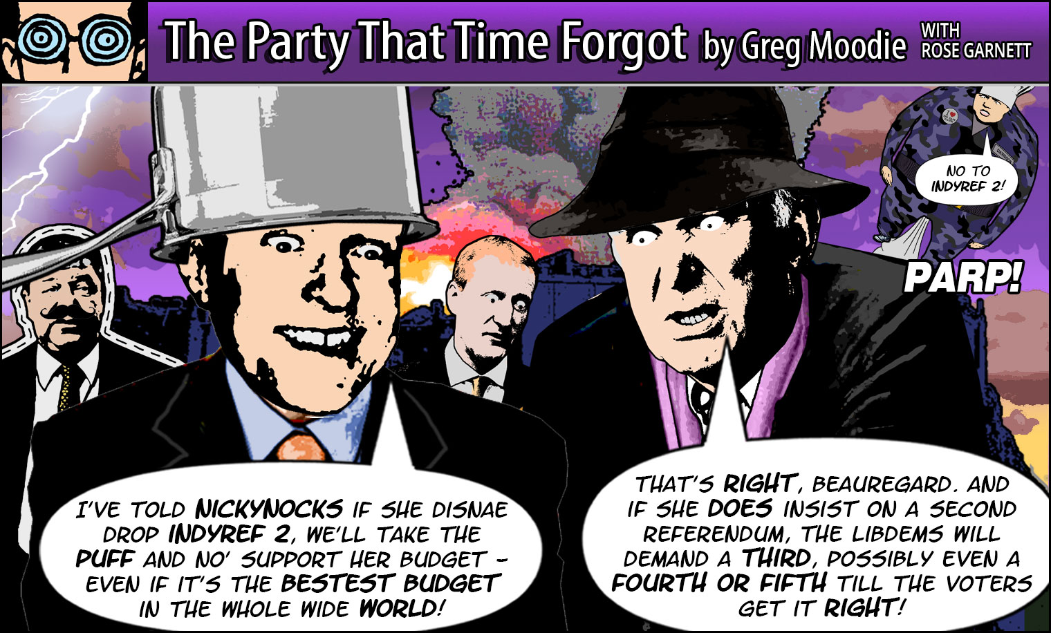 The Party That Time Forgot