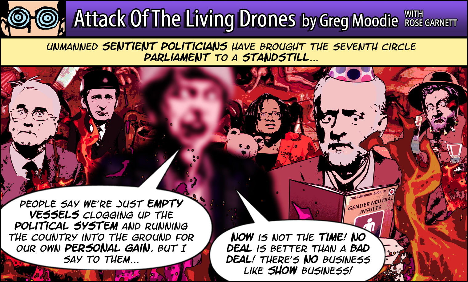 Attack Of The Living Drones