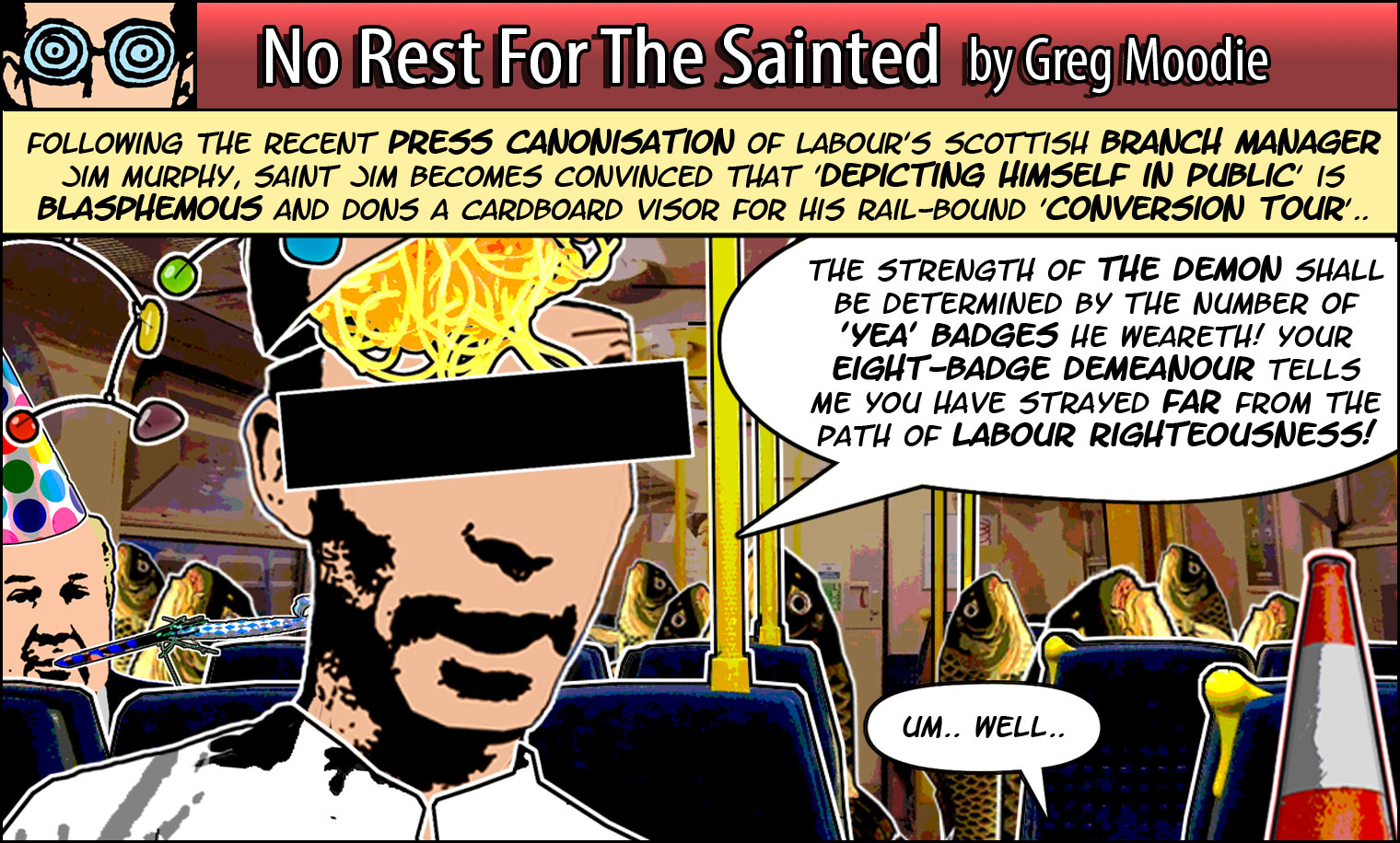 No Rest For The Sainted