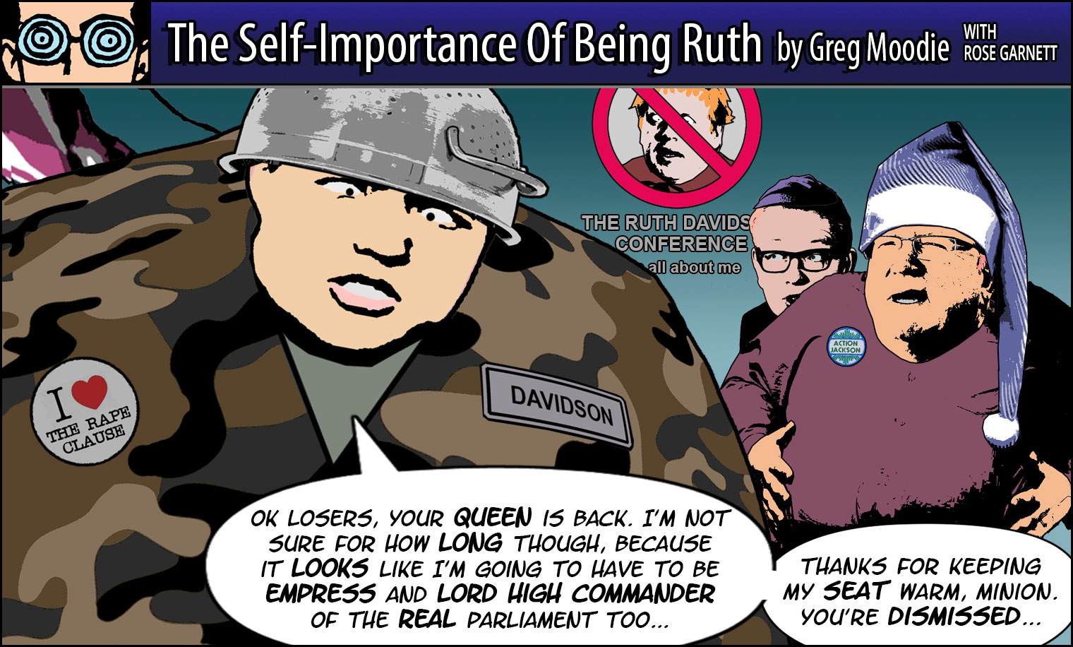 The Self-Importance Of Being Ruth