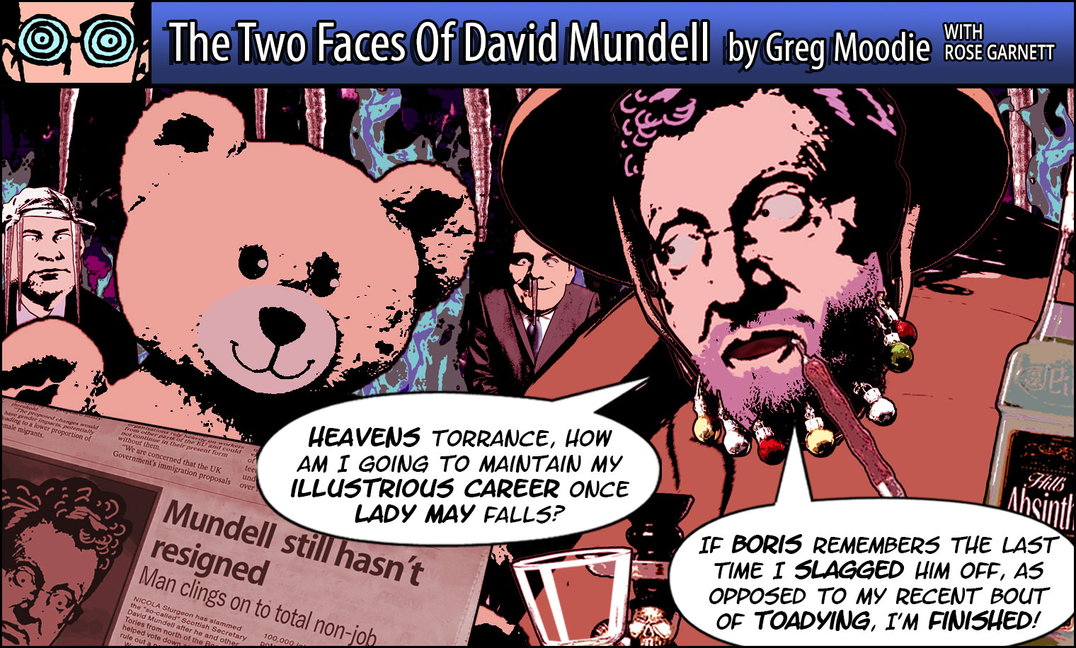 The Two Faces Of David Mundell