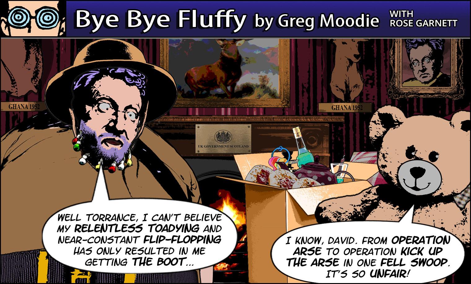 Bye Bye Fluffy