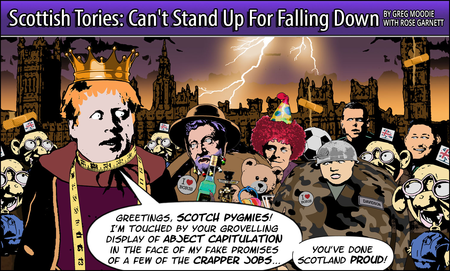 Scottish Tories: Can't Stand Up For Falling Down