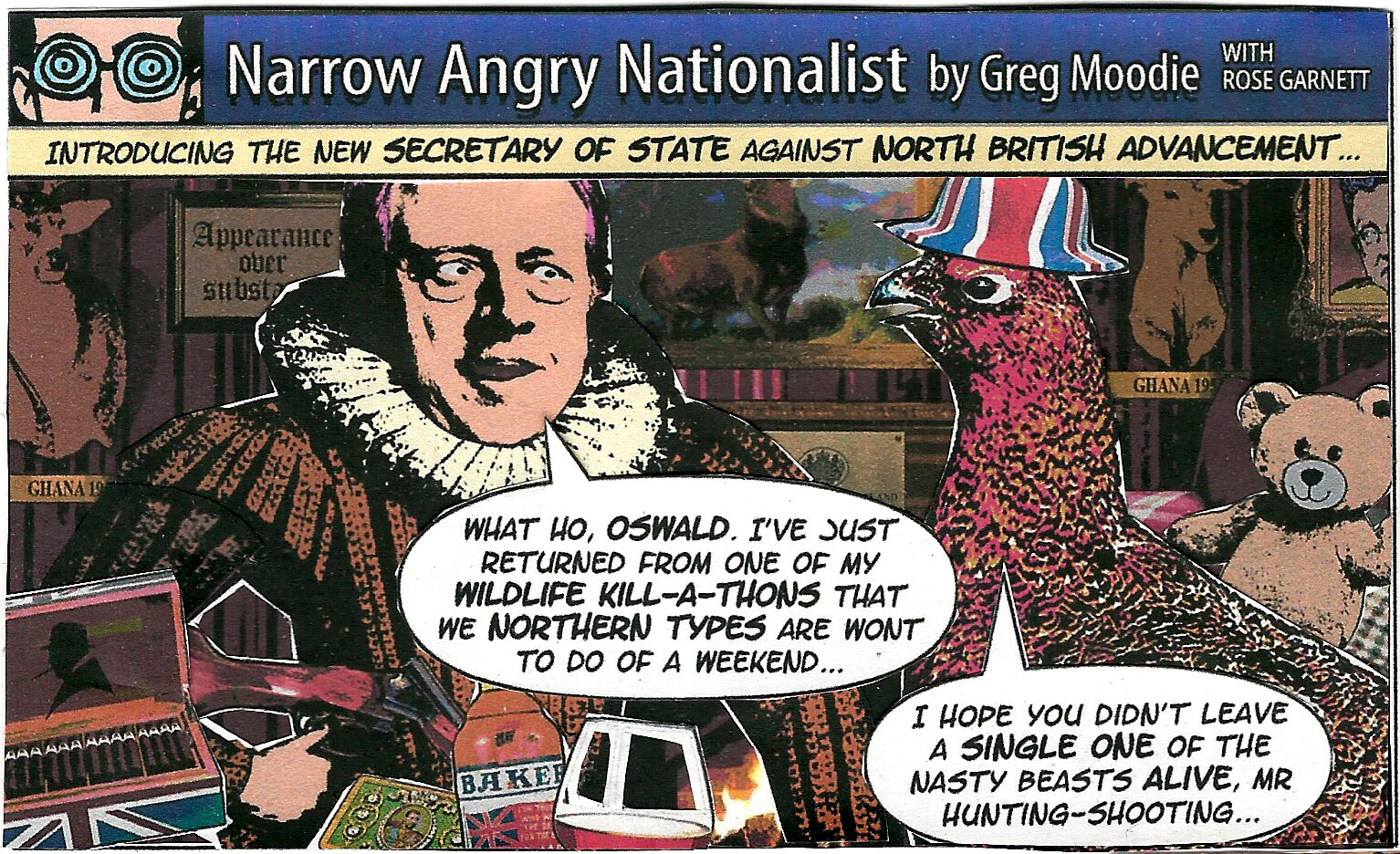Narrow Angry Nationalist