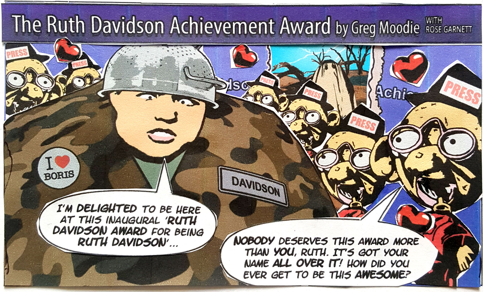 The Ruth Davidson Achievement Award