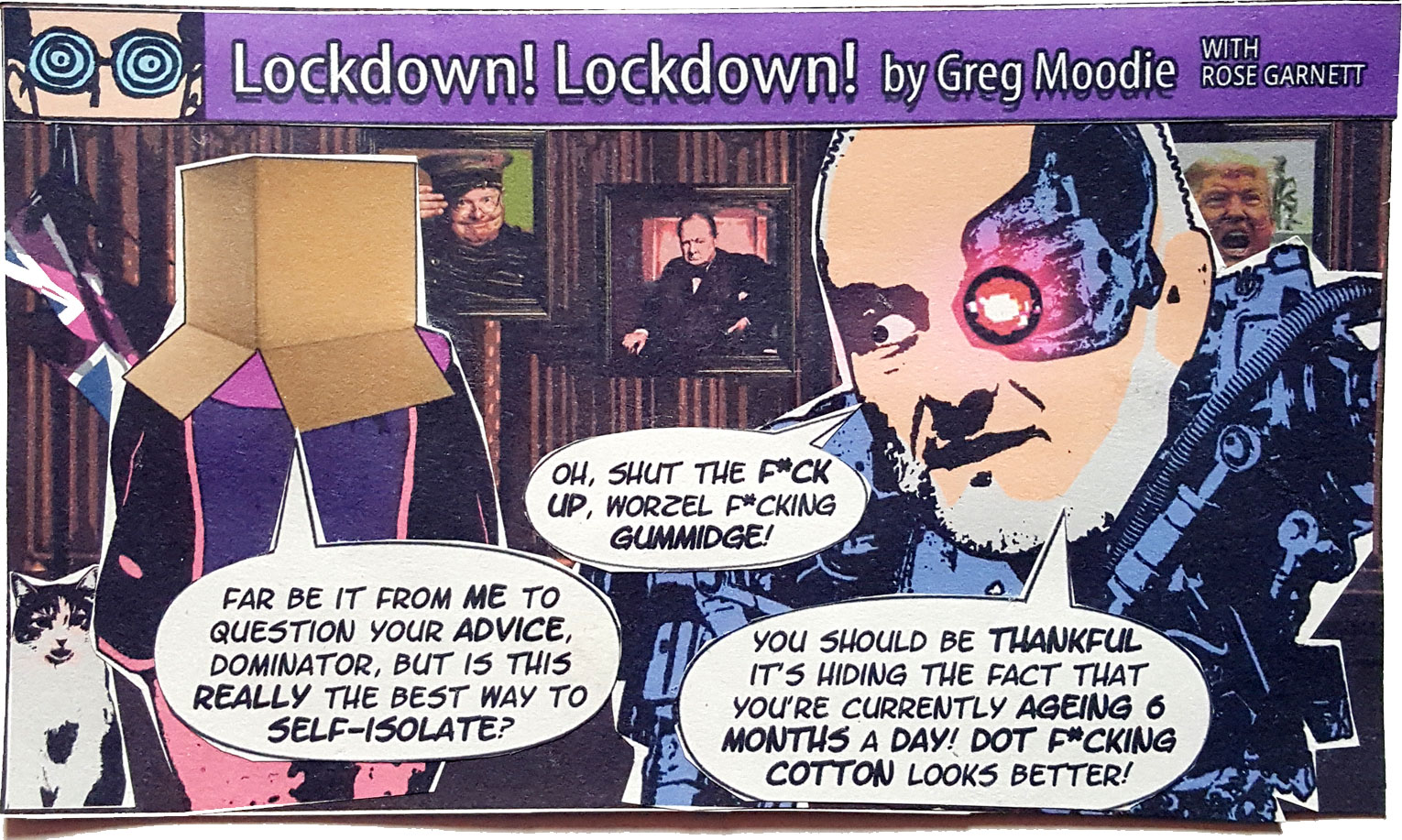 Lockdown! Lockdown! (unexpurgated version)