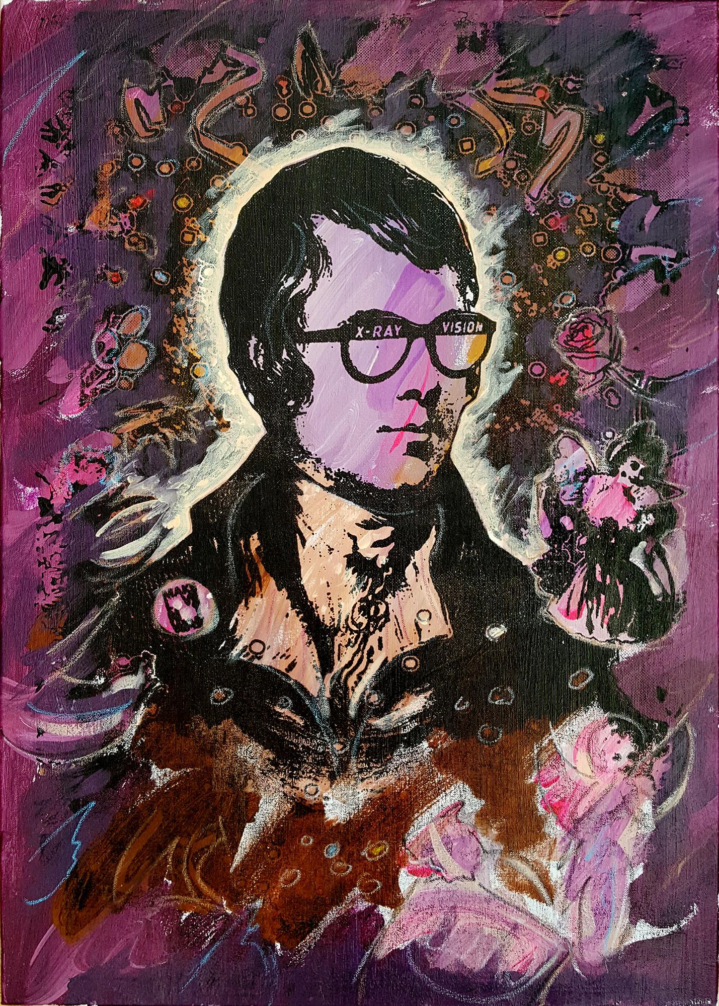 Portrait of Robert Burns - Face The Devil
