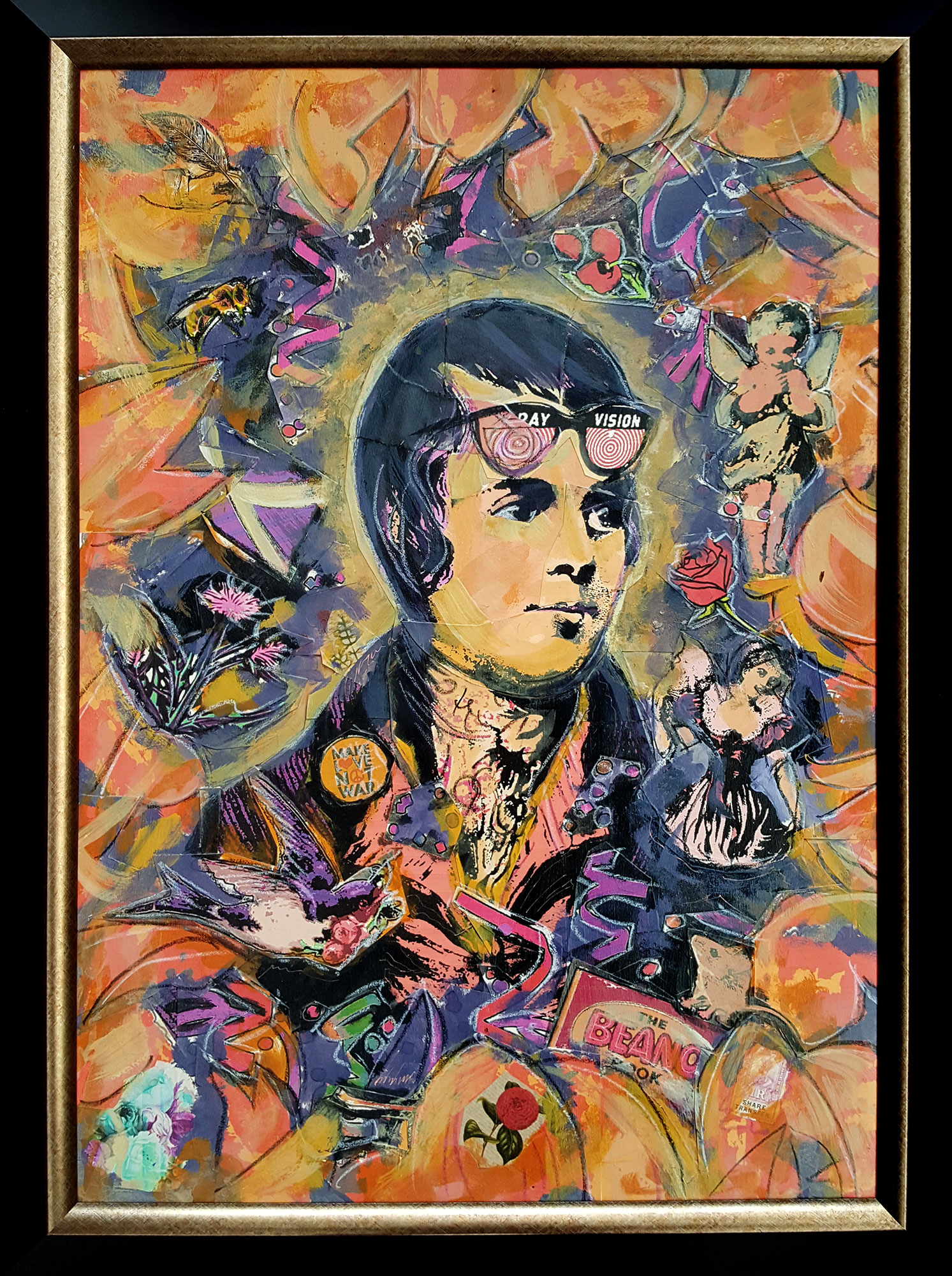 Portrait of Robert Burns - Sands of Life