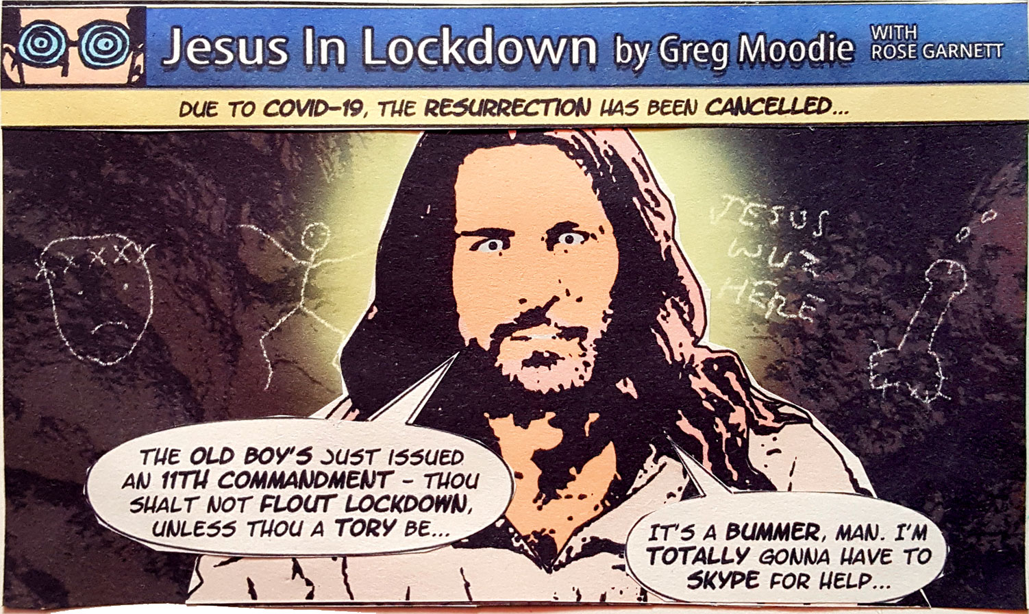 Jesus In Lockdown