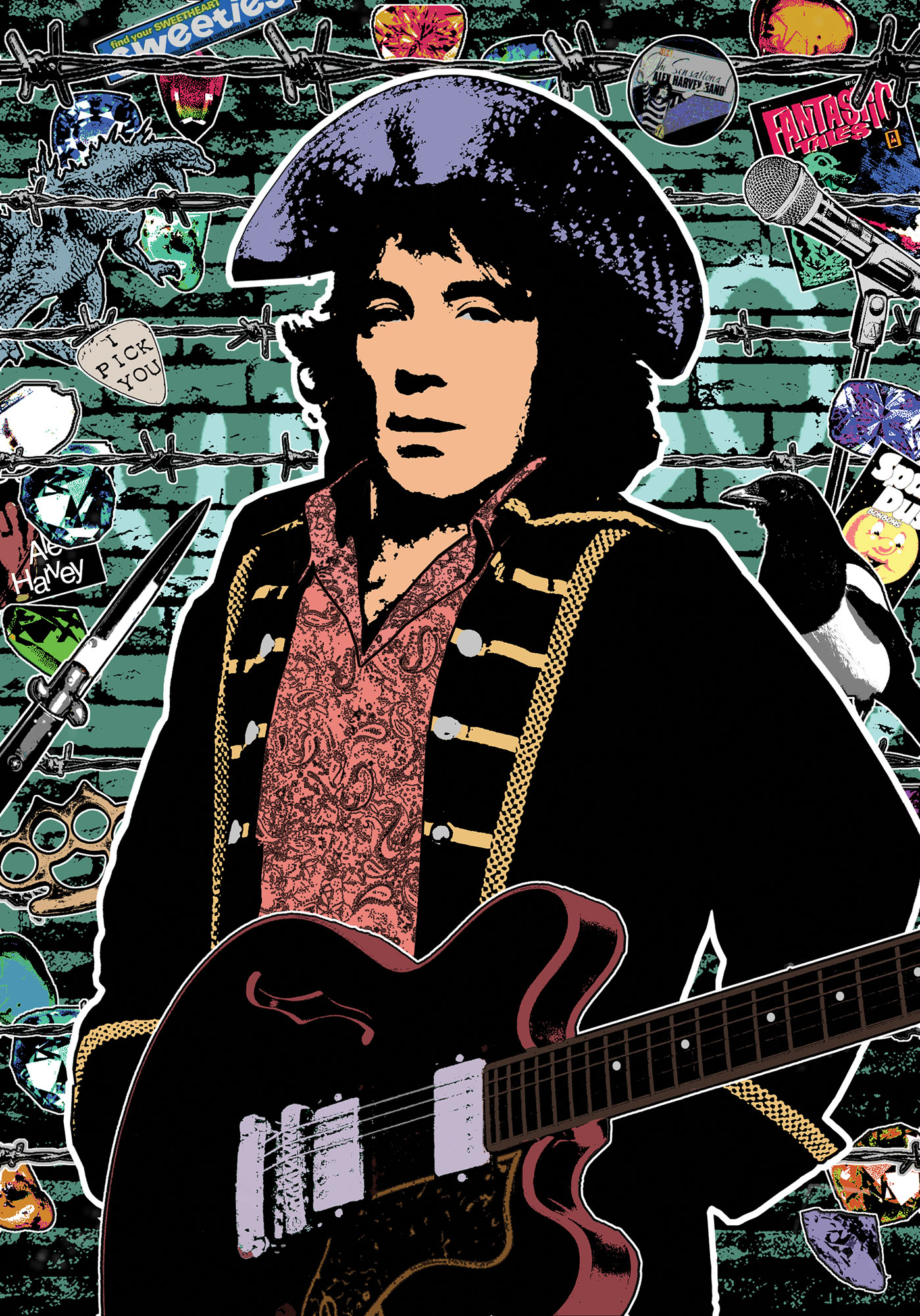 Portrait of Alex Harvey