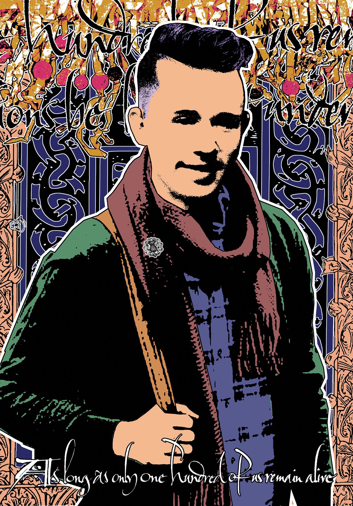 Portrait of Ian Hamilton