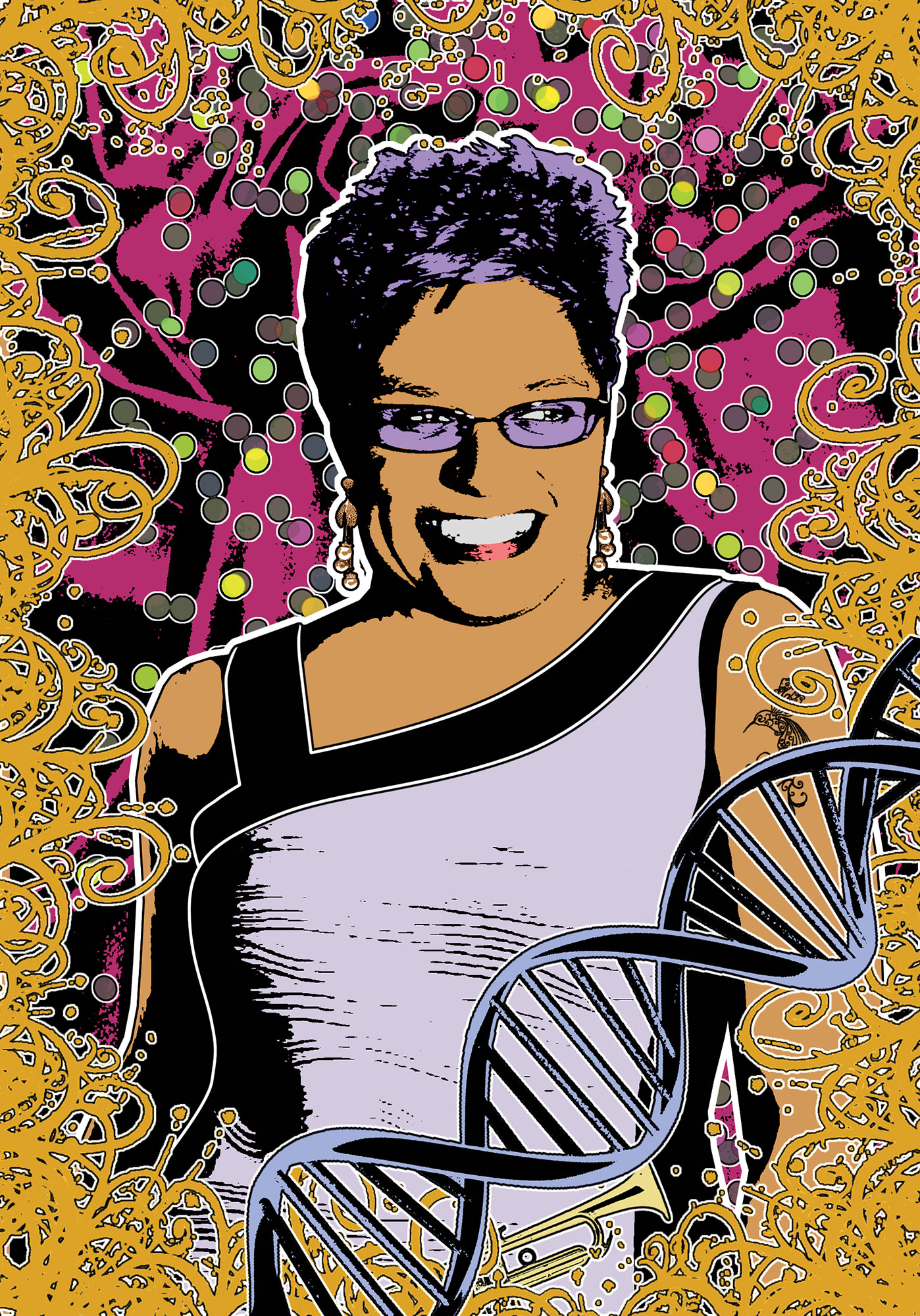 Portrait of Jackie Kay