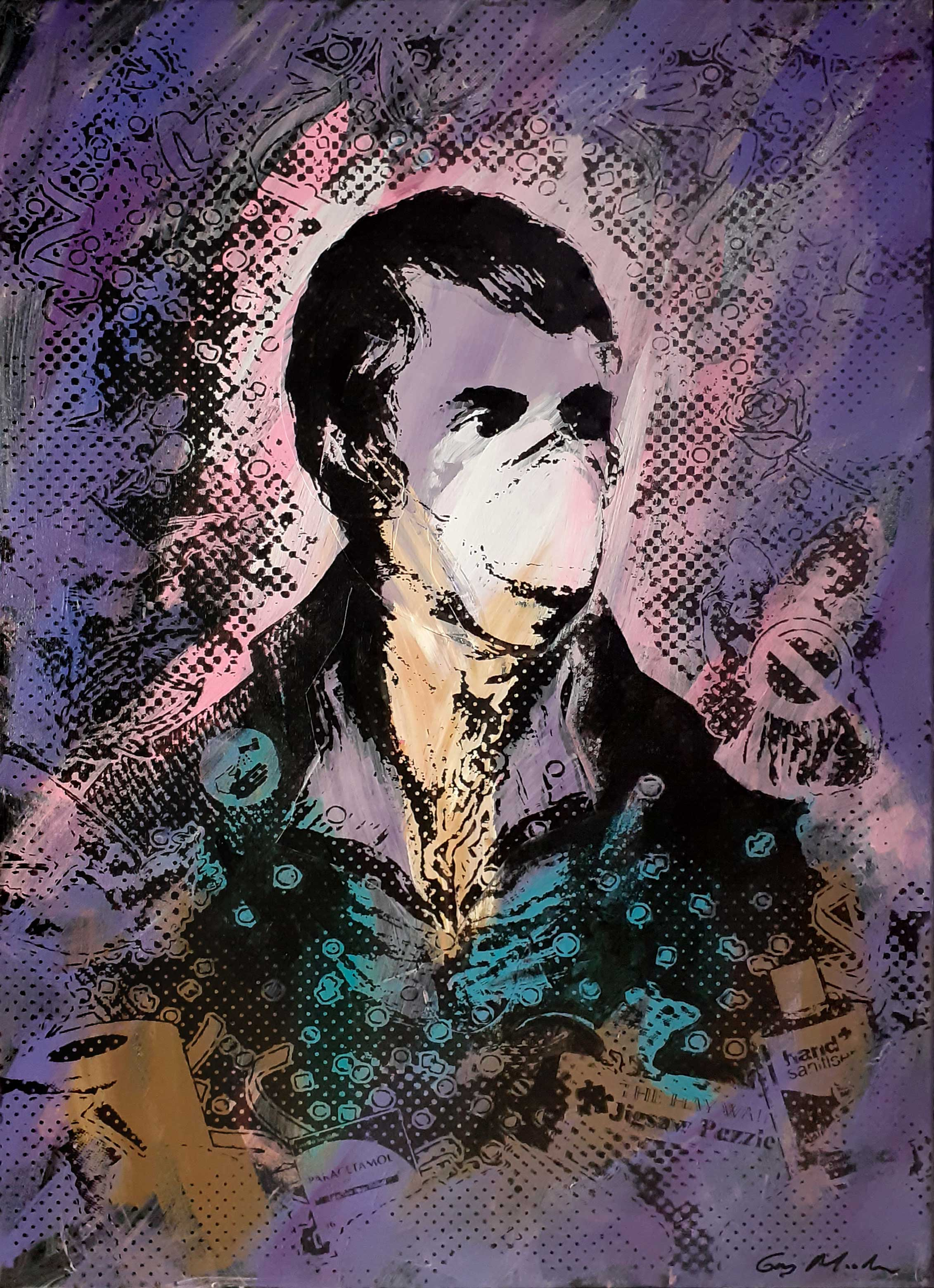 Portrait of Robert Burns - Lockdown1