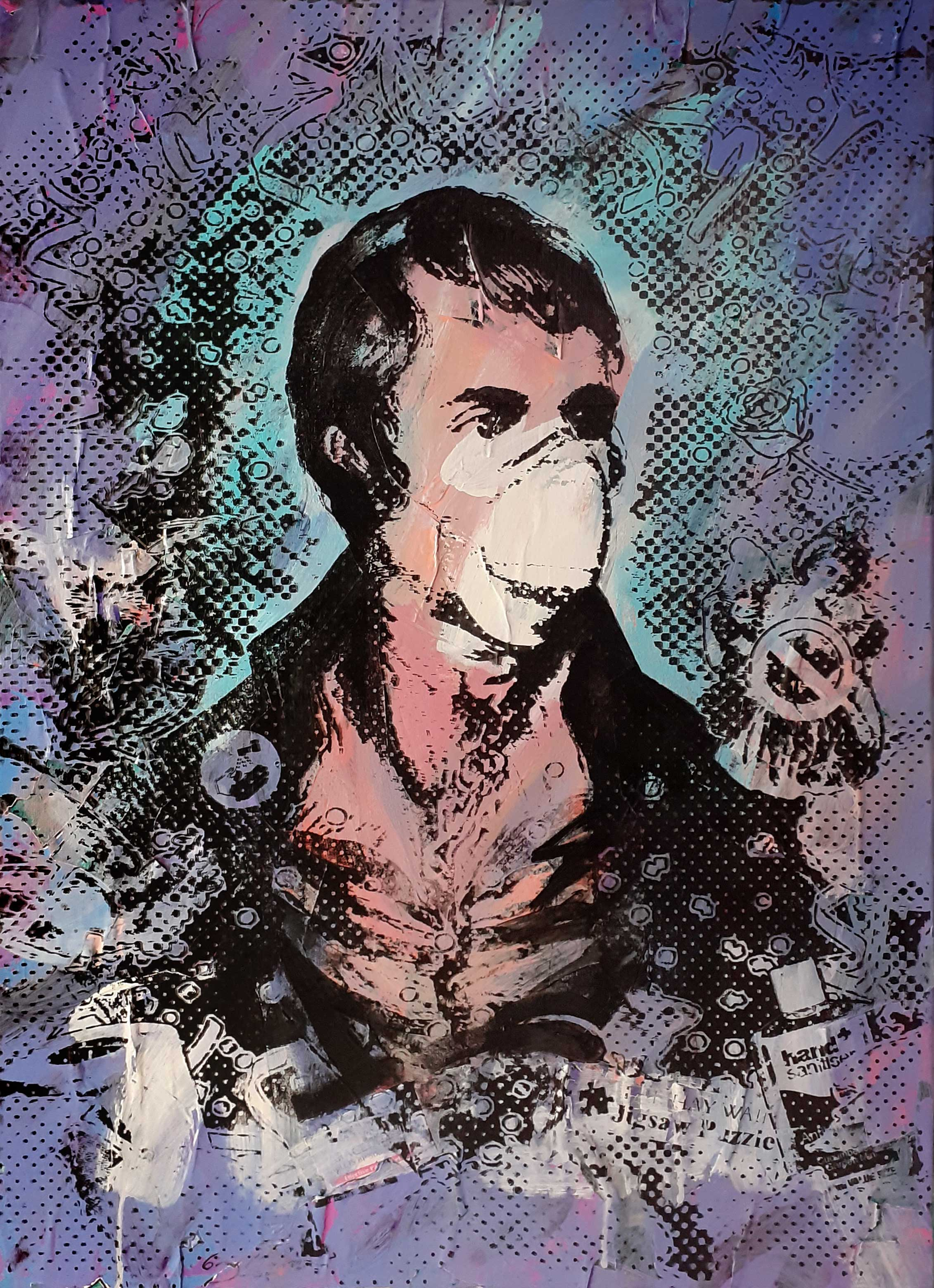 Portrait of Robert Burns - Lockdown2