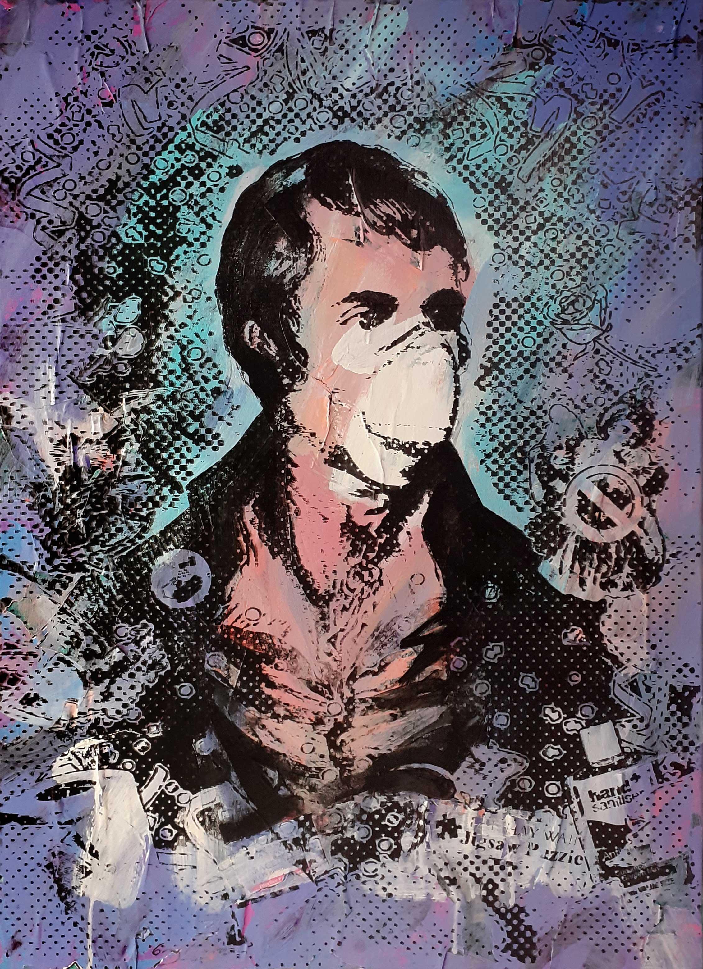 Portrait of Robert Burns - Lockdown2