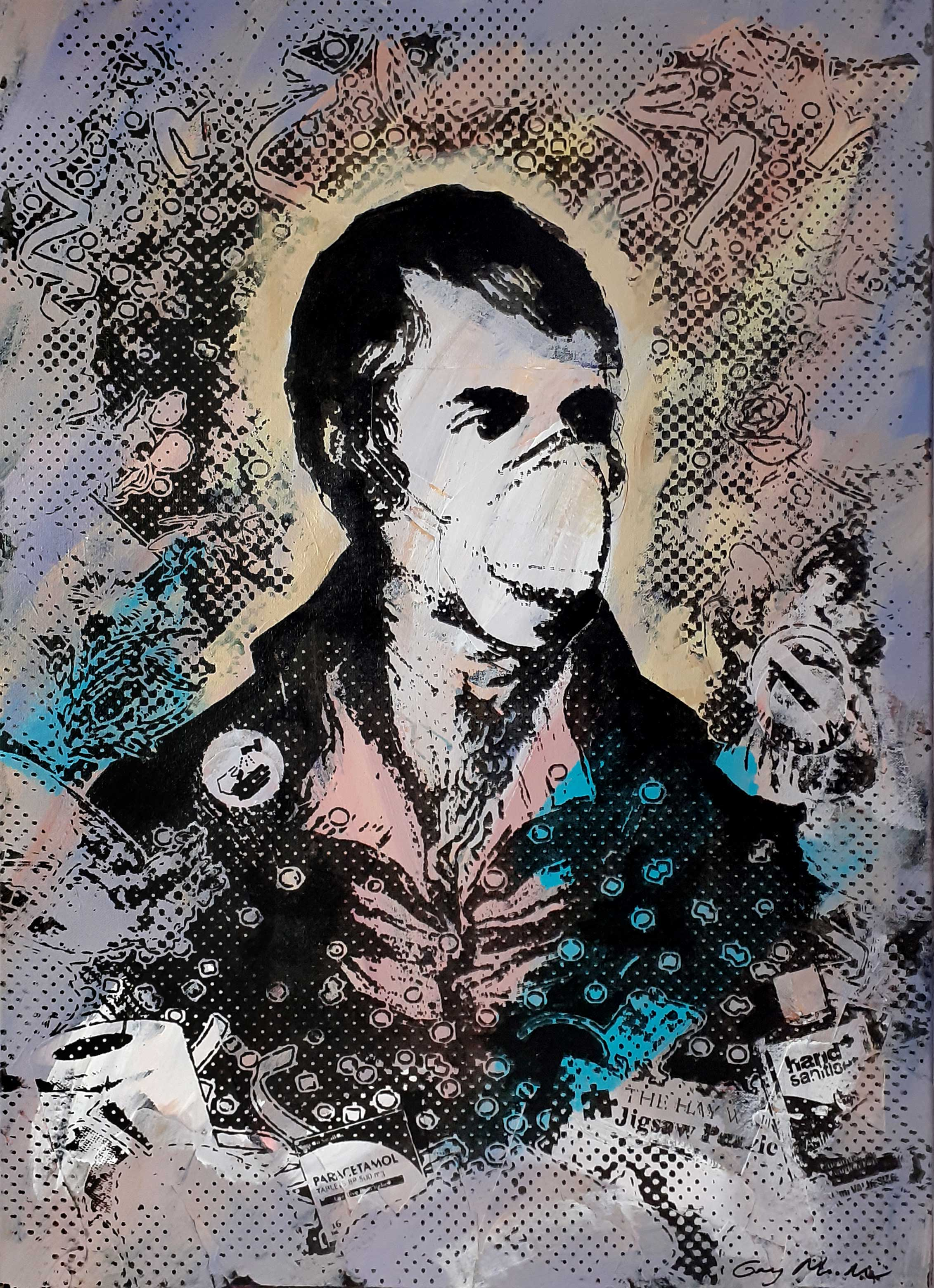Portrait of Robert Burns - Lockdown3