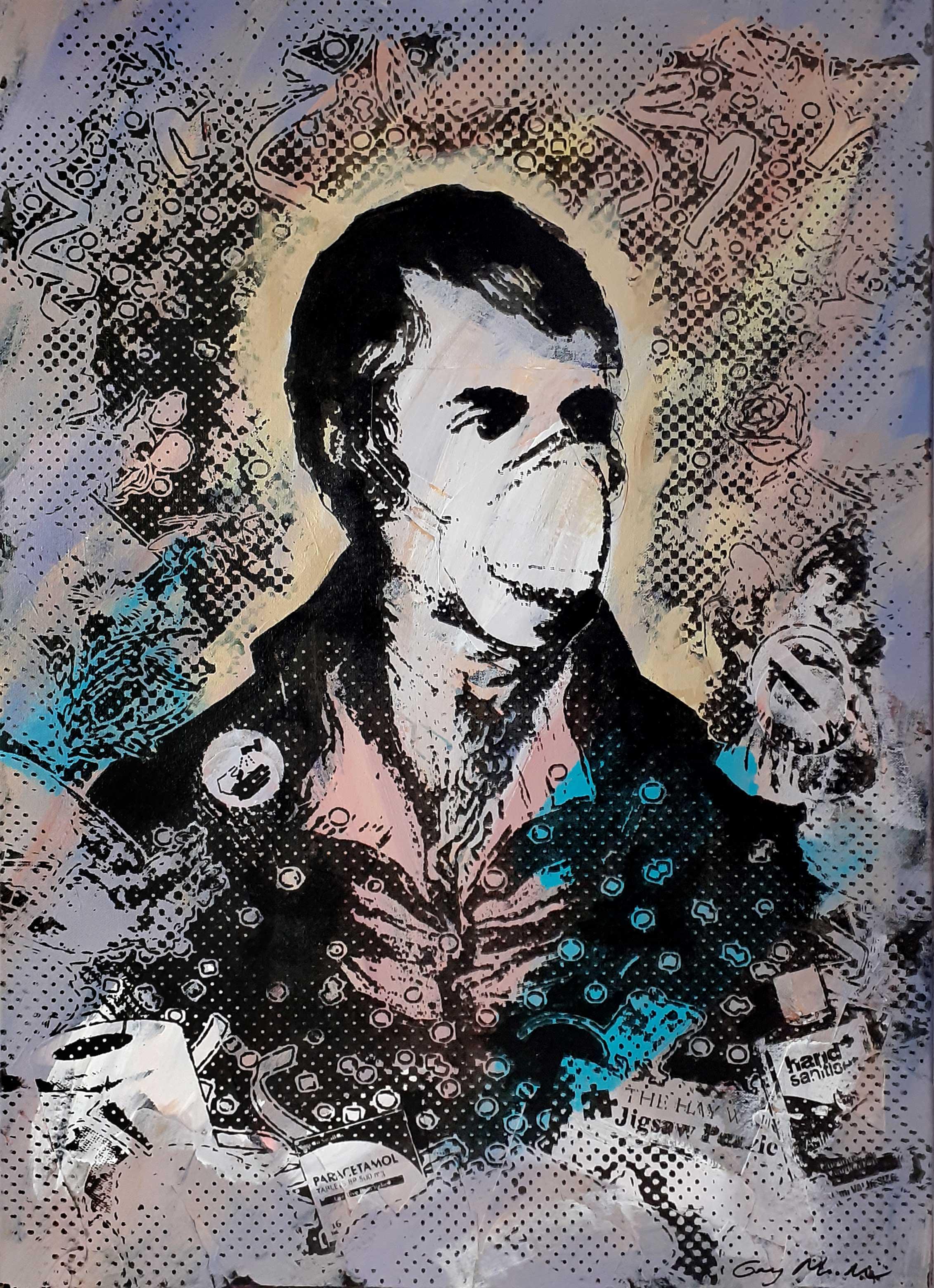 Portrait of Robert Burns - Lockdown3