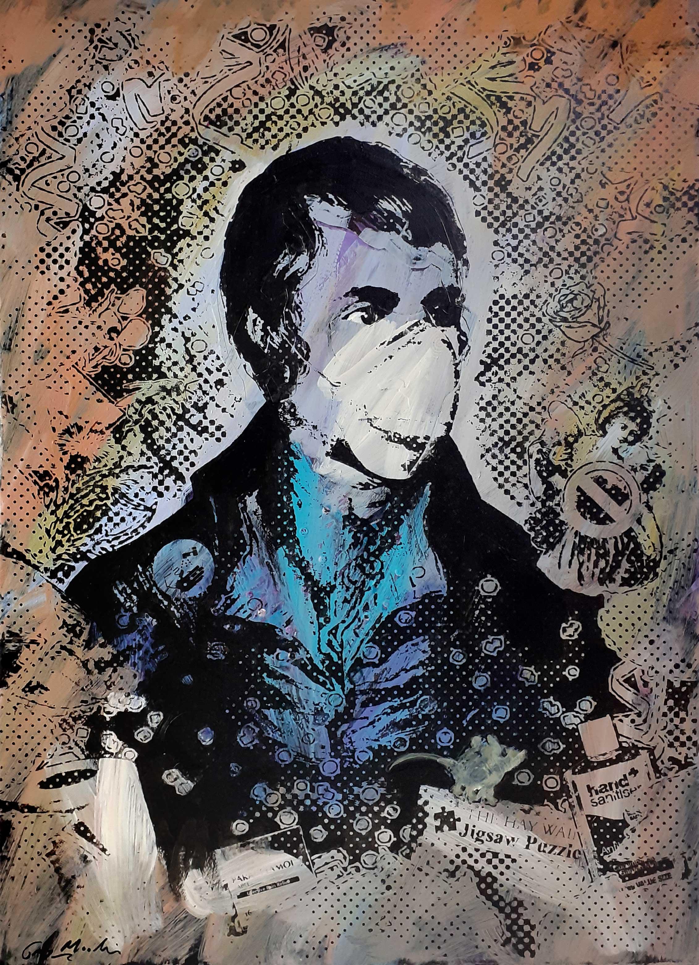 Portrait of Robert Burns - Lockdown4