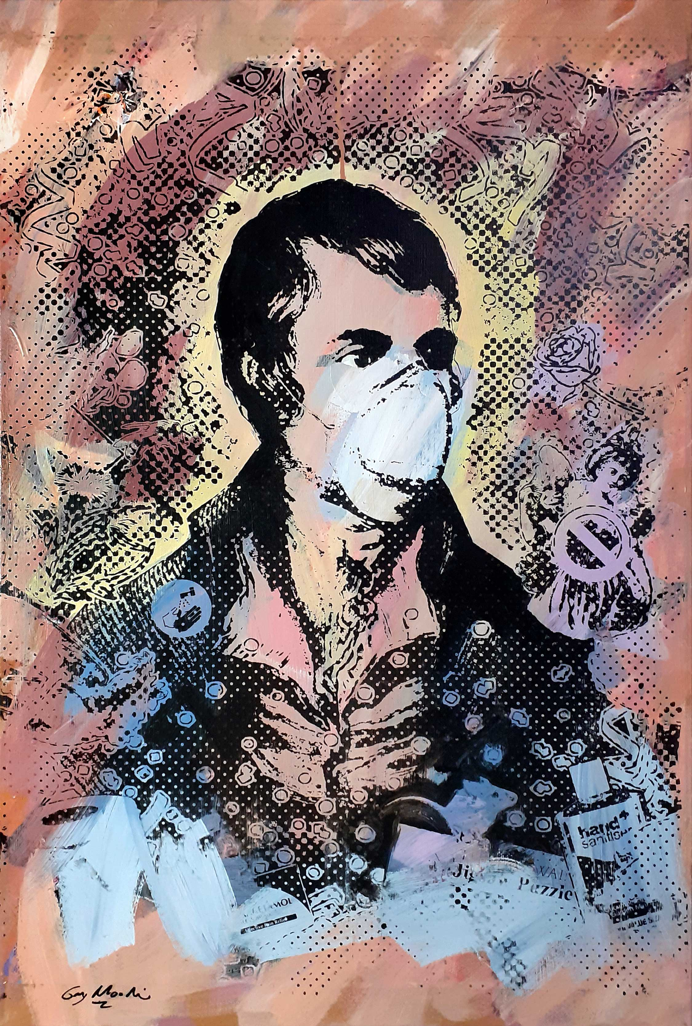 Portrait of Robert Burns - Lockdown6