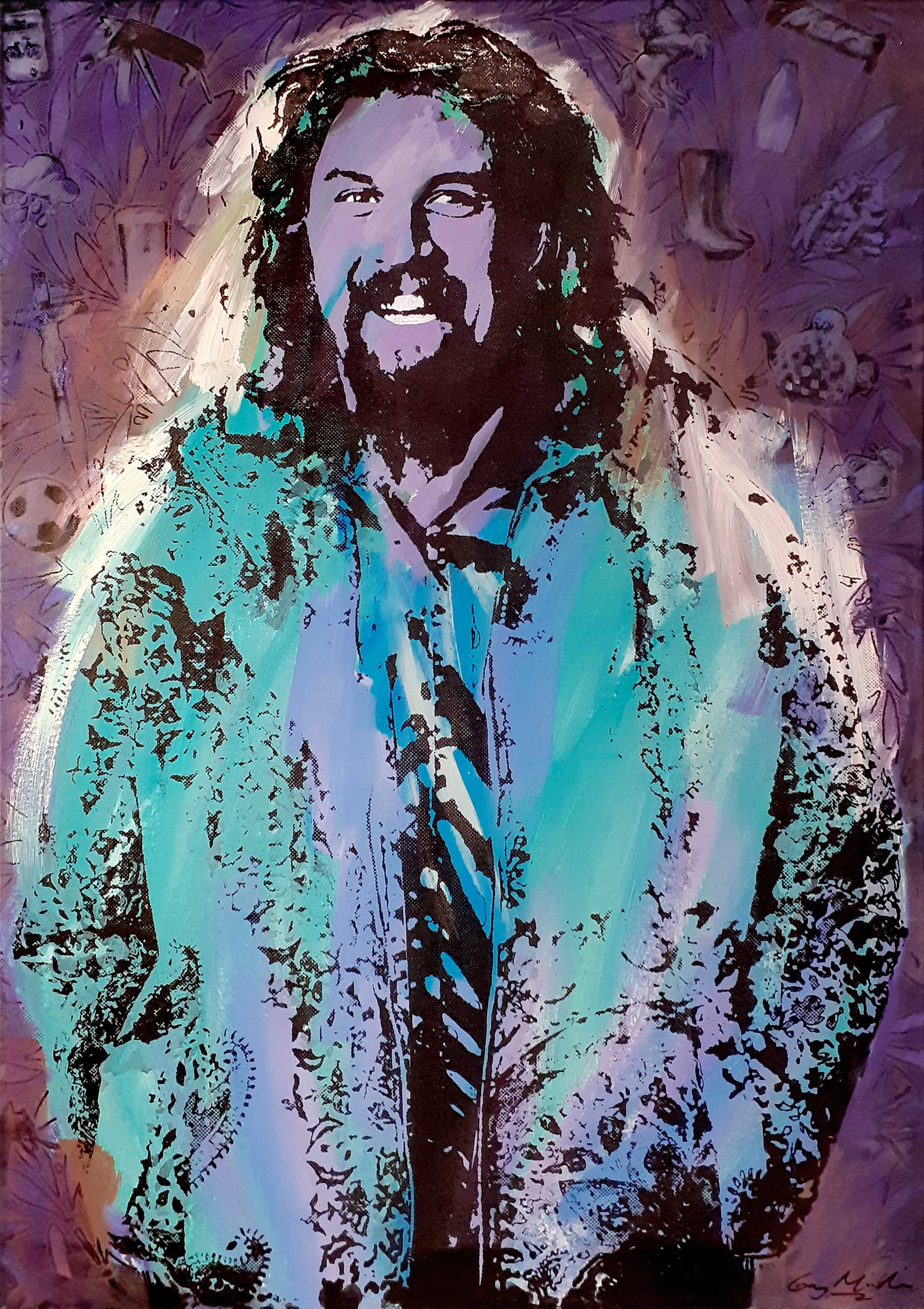 Portrait of Billy Connolly 1