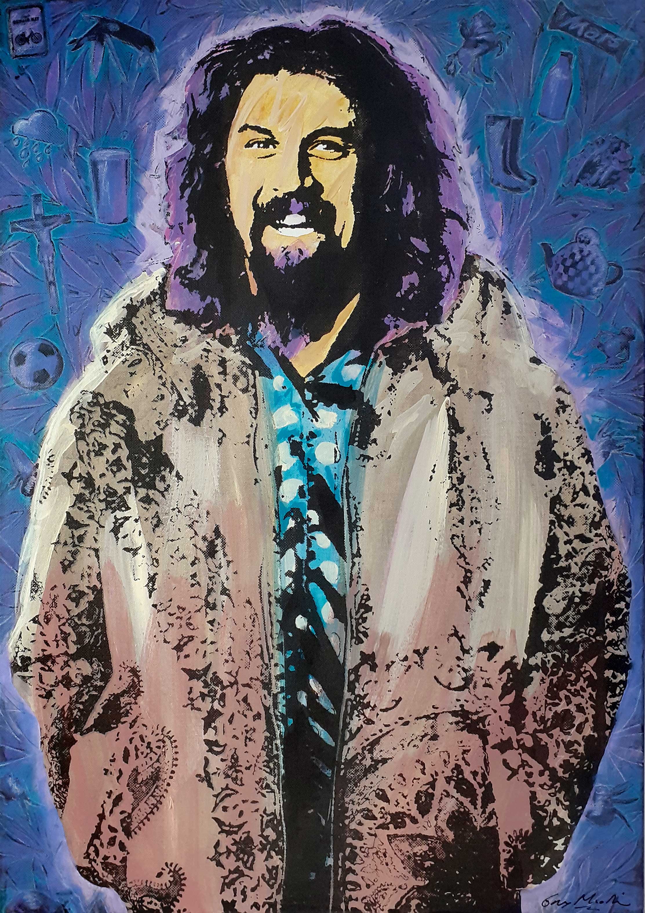 Portrait of Billy Connolly 2