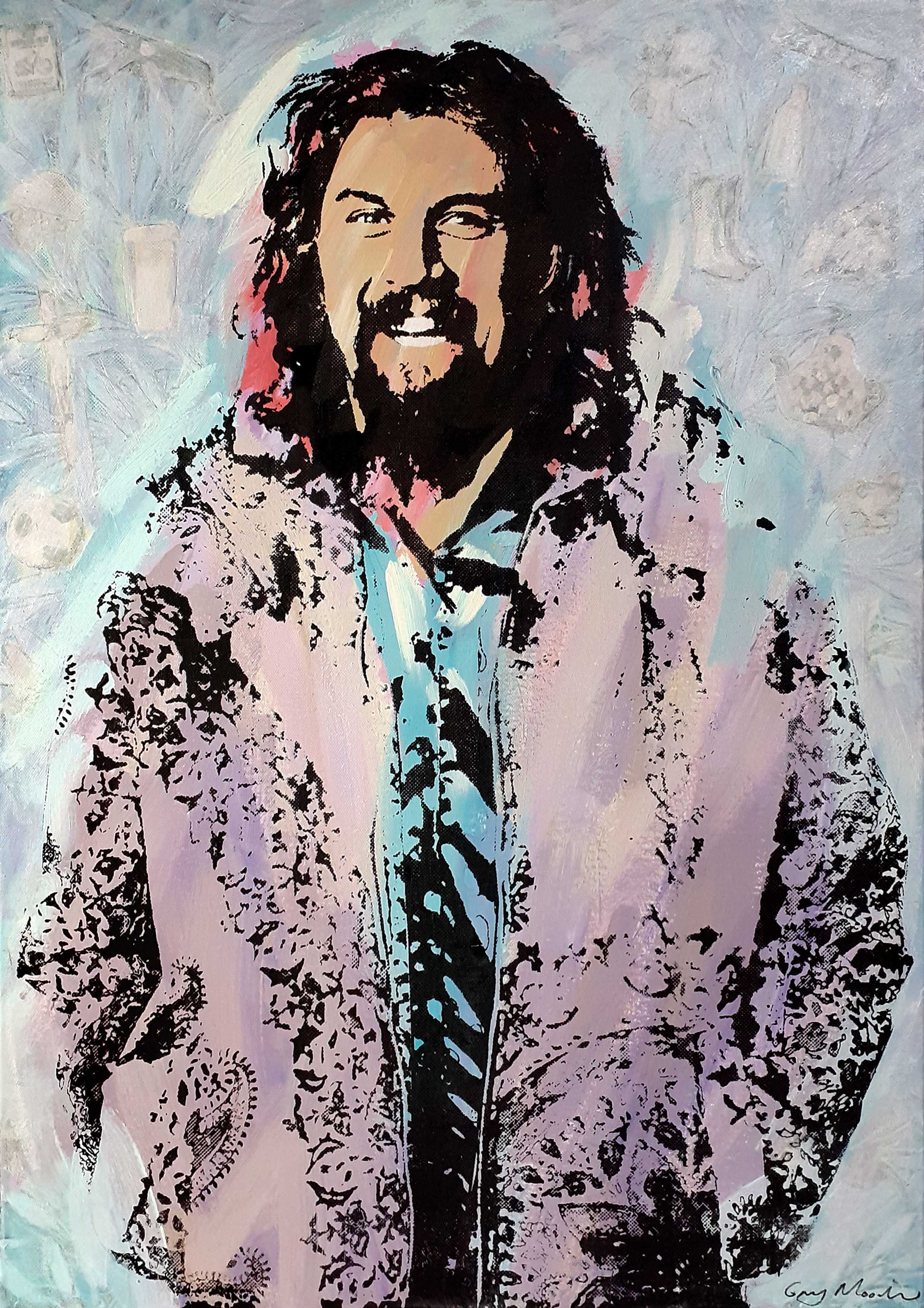 Portrait of Billy Connolly 3