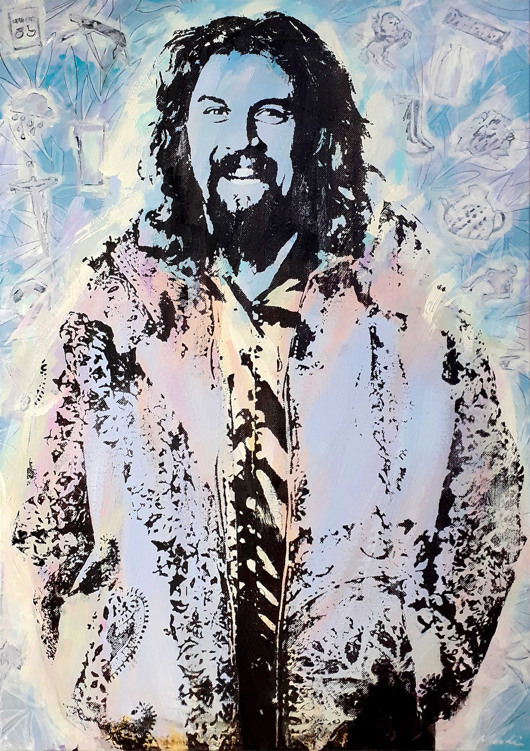 Portrait of Billy Connolly 4