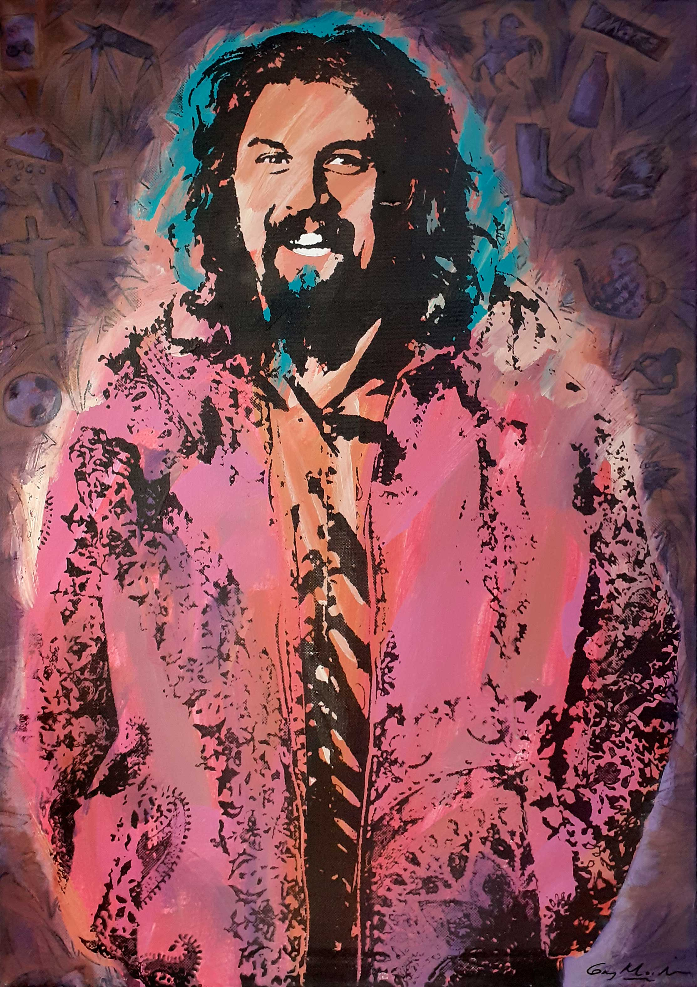 Portrait of Billy Connolly 5